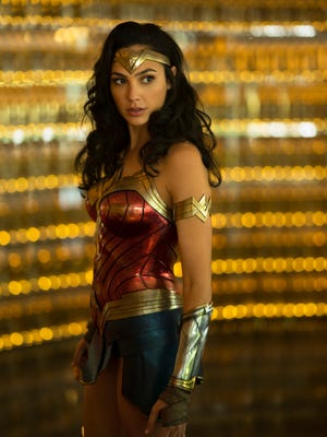 "Gal Gadot in ""Wonder Woman 1984."""