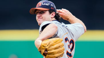 Tigers top 10 draft watch: Auburn's Casey Mize brings heat