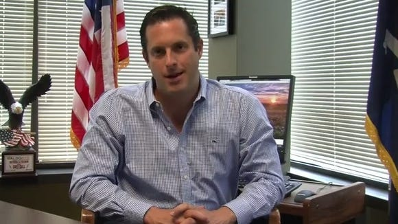 Greg Ball announcing May 16, 2014, in a video that he will not seek re-election.
