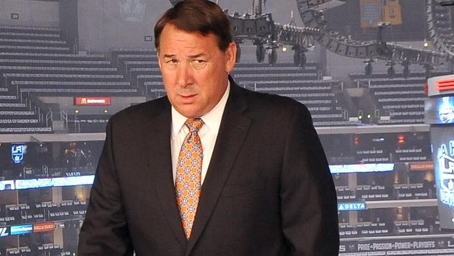Mike Milbury, shown in 2012, called for end to fighting during NBC Sports Network's season-opening NHL pregame show.
