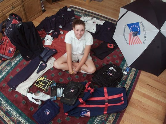 """Tessa Teachman represented the United States at the Junior Ryder Cup in 2004. Teachman, now 25, is a contestant on the Golf Channel's """"Big Break Myrtle Beach"""" this fall."""