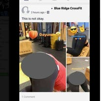 Outrage at Blue Ridge CrossFit ensues after video of women's rear ends posted online