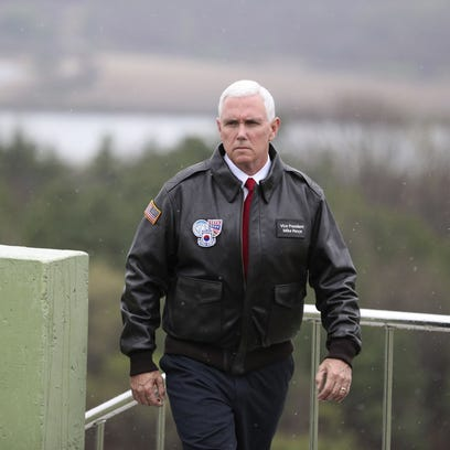 Pence to North Korea: 'Era of strategic patience is over'