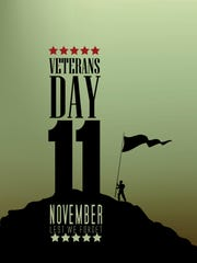 This illustration is for Veteran's holiday in America