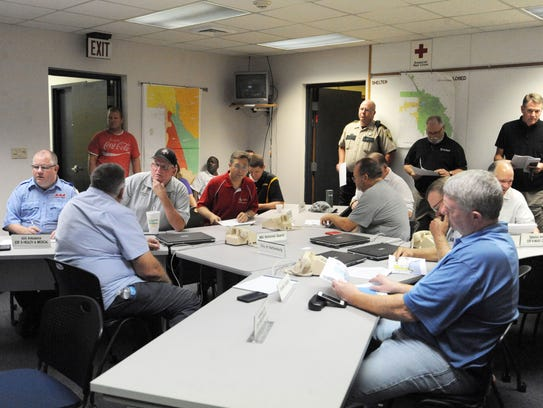 The Forrest County Emergency Management District goes