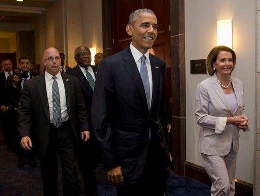 AP OBAMA CONGRESS TALKS A USA DC