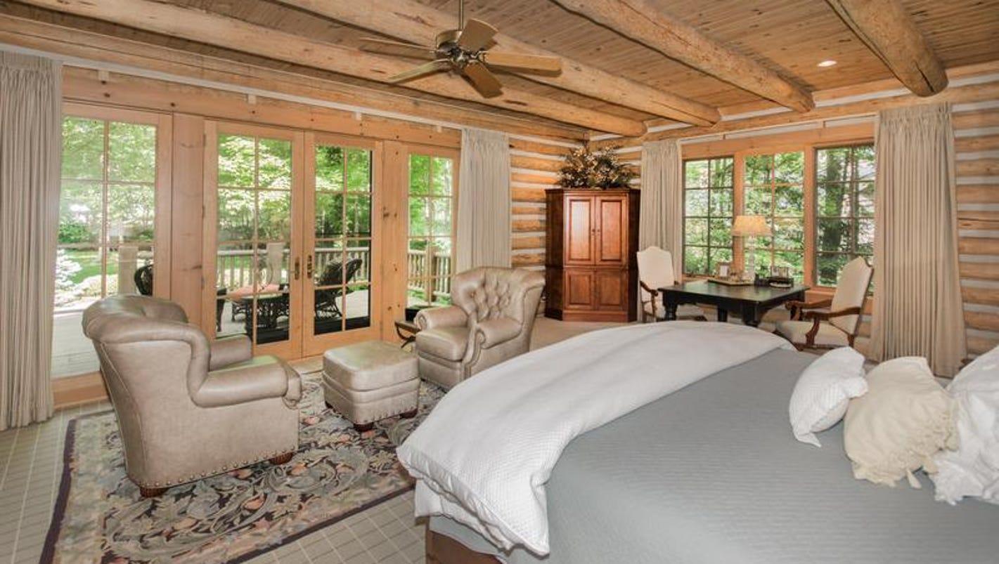 hot property: jim kittle's $2.5m log cabin