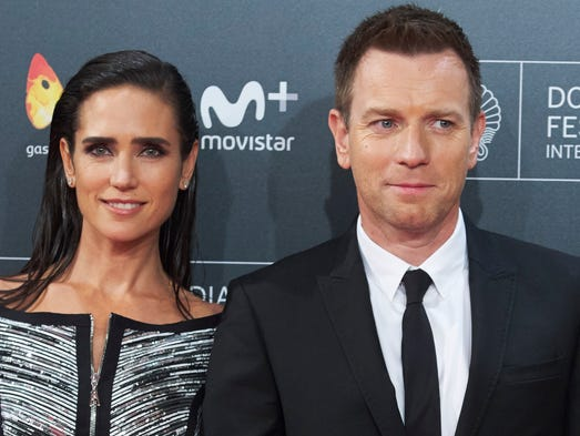 Actor Ewan McGregor and actress Jennifer Connelly attend