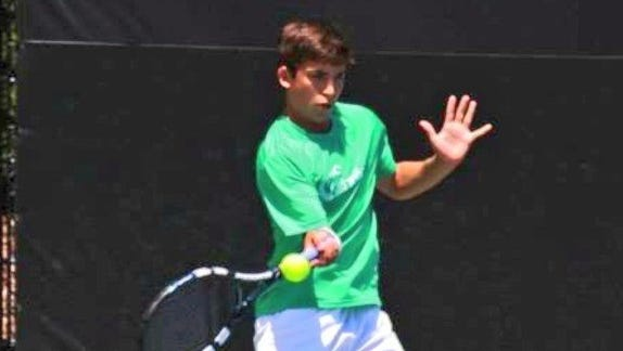 Asheville High senior Sam Brazil has committed to play college tennis for Charlotte.