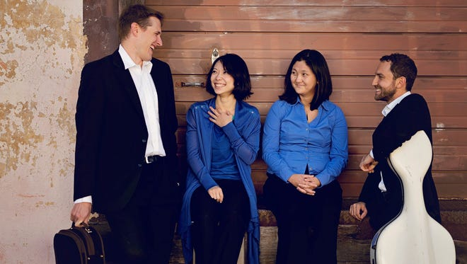 "The Delgani String Quartet returns to Salem Sunday, Jan. 22, with ""Art of the Fugue."""