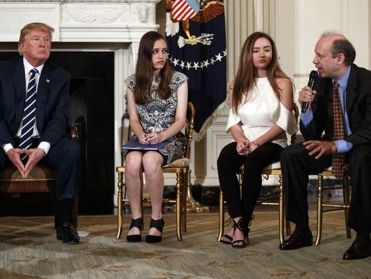 Donald Trump, Carson Abt, Frederick Abt, Ariana Klein