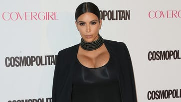 TV personality Kim Kardashian attends Cosmopolitan's 50th Birthday Celebration at Ysabel on Oct. 12, 2015 in West Hollywood, Calif.