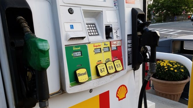 The average price for a gallon of regular unleaded gasoline in Massachusetts this week is $2.11, according to AAA Northeast, down 4 cents from a week ago and a whopping 49 cents cheaper than a year ago.