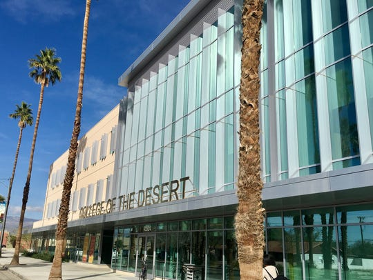 College of the Desert Indio Campus opened in 2014 and
