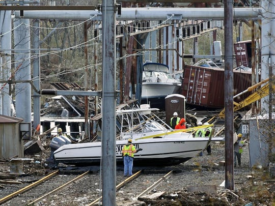 "NJ Transit and Amtrak are working together on a railroad yard expansion in New Brunswick and North Brunswick to create a ""safe haven"" for railroad cars in extreme weather events to avoid the damage that was caused by Superstorm Sandy."