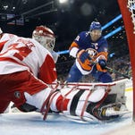 Game thread: Red Wings beat Islanders, 4-3, in OT