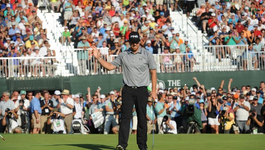 Hunter Mahan won the most recent playing of the PGA