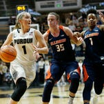 At the buzzer: Purdue women's basketball 64, Illinois 51