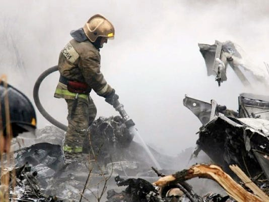 AP RUSSIA HELICOPTER CRASH I RUS