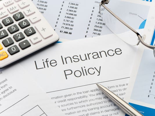 Close up of Life Insurance Policy
