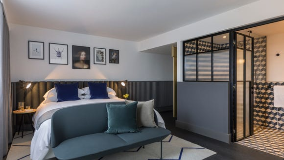 The Kimpton DeWitt recently opened in Amsterdam. It's