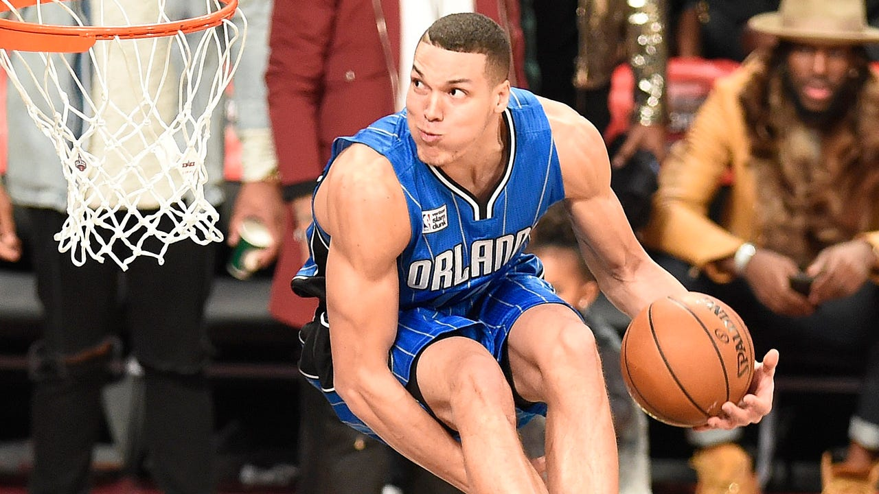 Zach LaVine and Aaron Gordon put on a show in a dunk contest for the ages at All-Star Weekend last year in Toronto.