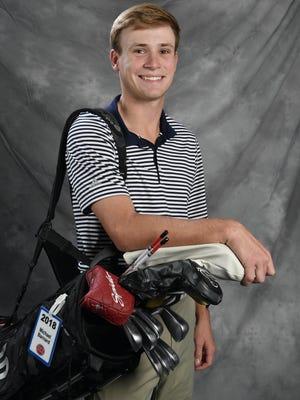 Michael Barnard from Beech is a Midstate boys golf finalist.Thursday Nov. 2, 2017, in Nashville, TN