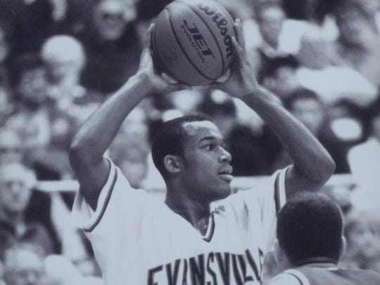 Marcus Wilson was the Missouri Valley Conference Player of the Year in 1999.
