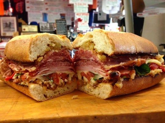 A sub sandwich from Carluccio's in Marlboro.