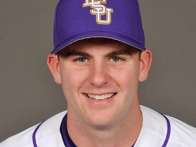 LSU pitcher Alex Lange