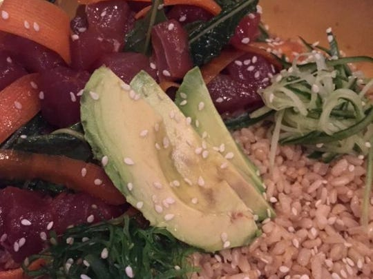 Tuna Poke Rice Bowl was a dish first served at 8th & Union Kitchen when the contemporary American gastropub, with a slant toward Southeast Asian cuisine.
