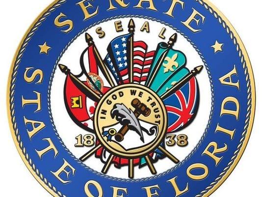 NEW Color Senate seal 12x12