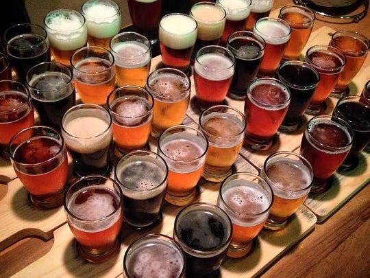 Louisiana is home to about 33 craft breweries.