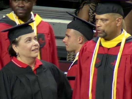 Jordan's main accomplishment: Getting his degree (and his players getting them too).