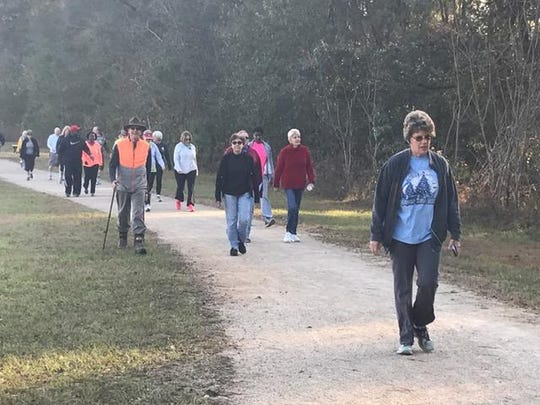 Move walkers will meet at the Miccosukee Greenway on Saturday.