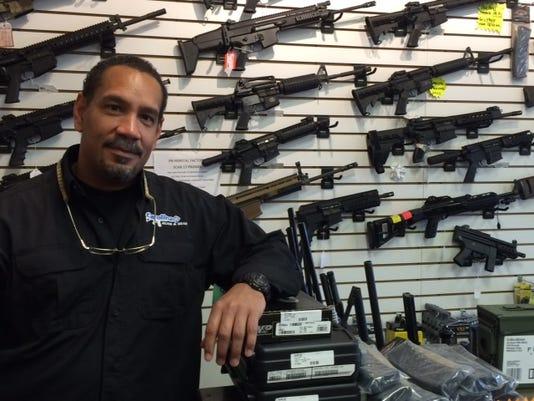 Steve Denny gun shop owner