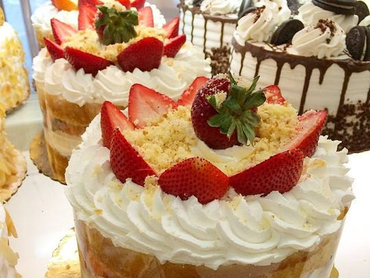 Strawberry shortcake from Carlo's Bakery, featured on TLC's Cake Boss.