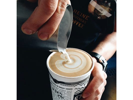 Here's to a Tuesday that feels like Monday. #latte #latteart #coffee #louisv.jpg