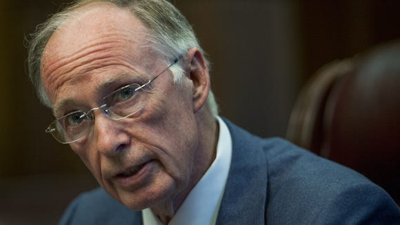 Gov. Robert Bentley signed an executive order on Tuesday