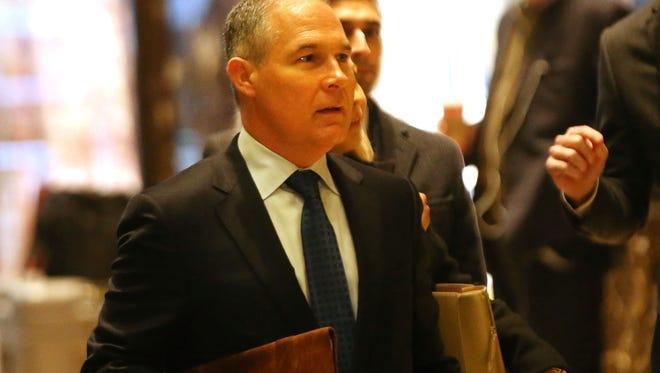 Oklahoma Attorney General Scott Pruitt