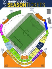 Nashville SC season ticket packages start at $11 per