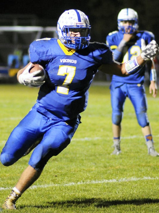 Luke Funck and his Northern Lebanon teammates can wrap up both a second straight Section Three title and a Class AAA district playoff spot with a win at Columbia on Friday night.