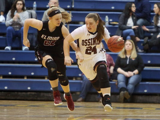OSSINING VS ELMIRA GIRLS BASKETBALL