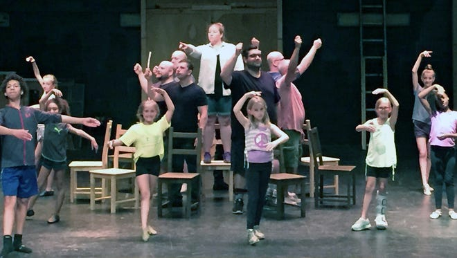 """Fairfield Summer Theatre cast members prepare for their regional debut of the Tony Award winning musical """"Billy Elliot."""""""