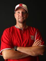 Ruston High School's head baseball coach Toby White