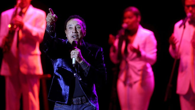 Smokey Robinson performs as part of the Opening Nights series at the Ruby Diamond Concert Hall on FSU's campus Feb. 11, 2017.
