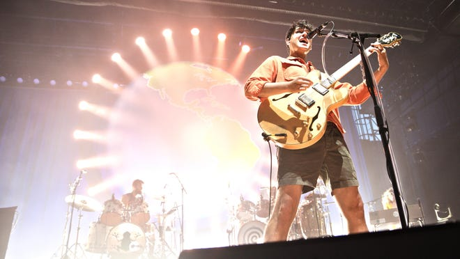 Vampire Weekend performs  at the St. Augustine Amphitheatre on Aug. 26, 2019.