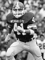 Shane Bullough, a Michigan State linebacker from 1983-86,