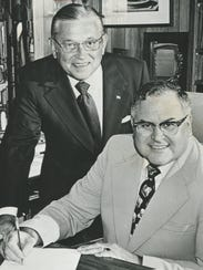 William Liggett, president of First National Bank of