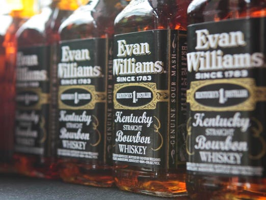 The Evan Williams Bourbon Experience features, of course, lots of bourbon for sale crafted by Evan Williams. April 25, 2014